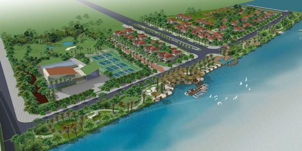 Phối cảnh bến Du Thuyền Green City