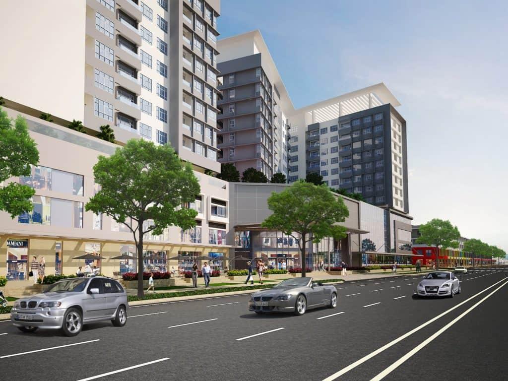 Trung tâm thương mại khu đô thị sinh thái Sala