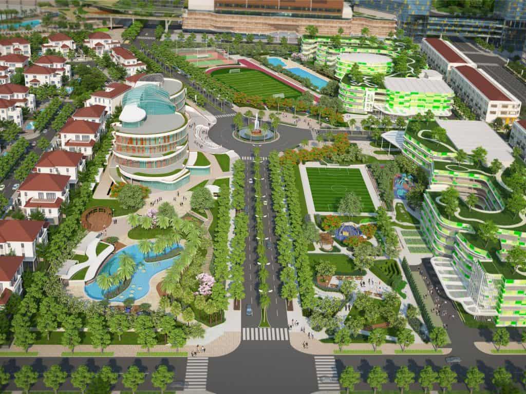 Khu thể thao tích hợp khu đô thị sinh thái Sala