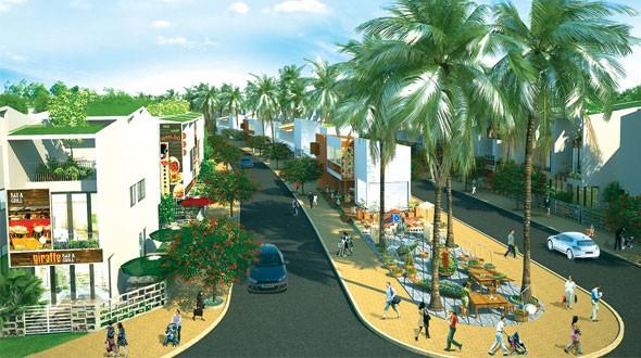 Phố thương mại Cửu Long - Sông Hồng
