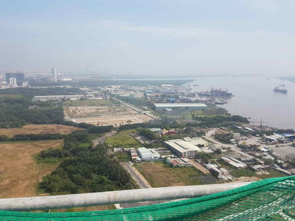 View từ tầng thượng dự án An Gia Riverside