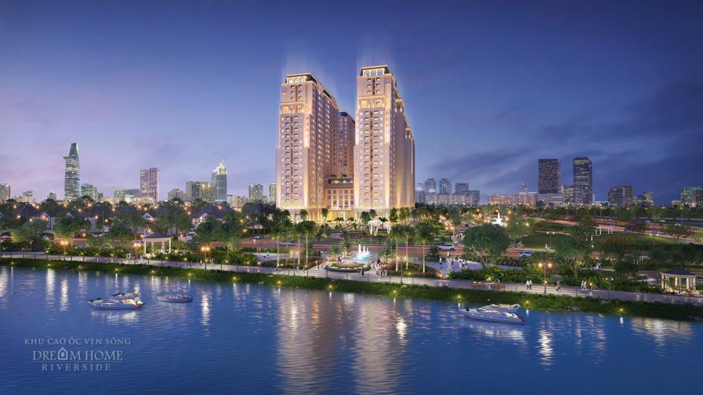 Khu cao ốc ven sông Dream Home Riverside sở hữu vị thế đắt giá ngay trung tâm quận 8