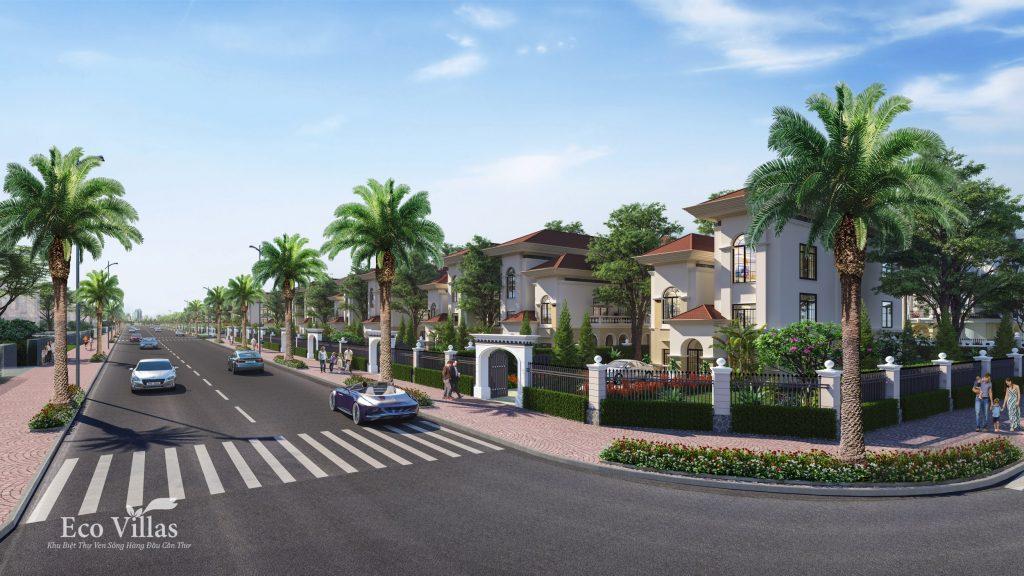 Khu biệt thự sang trọng và hiện đại với không gian sống riêng biệt trở thành xu hướng của các đại gia Việt hiện nay