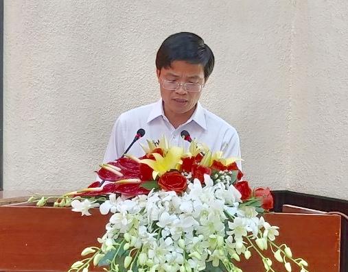 Ông Vũ Hồng Thuấn – Phó Chủ tịch UBND TP Vũng Tàu công bố quy hoạch sử dụng đất TP Vũng Tàu đến năm 2020.