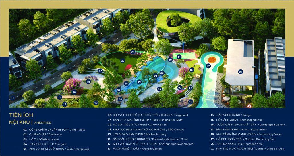 the standard central park tien ich noi khu