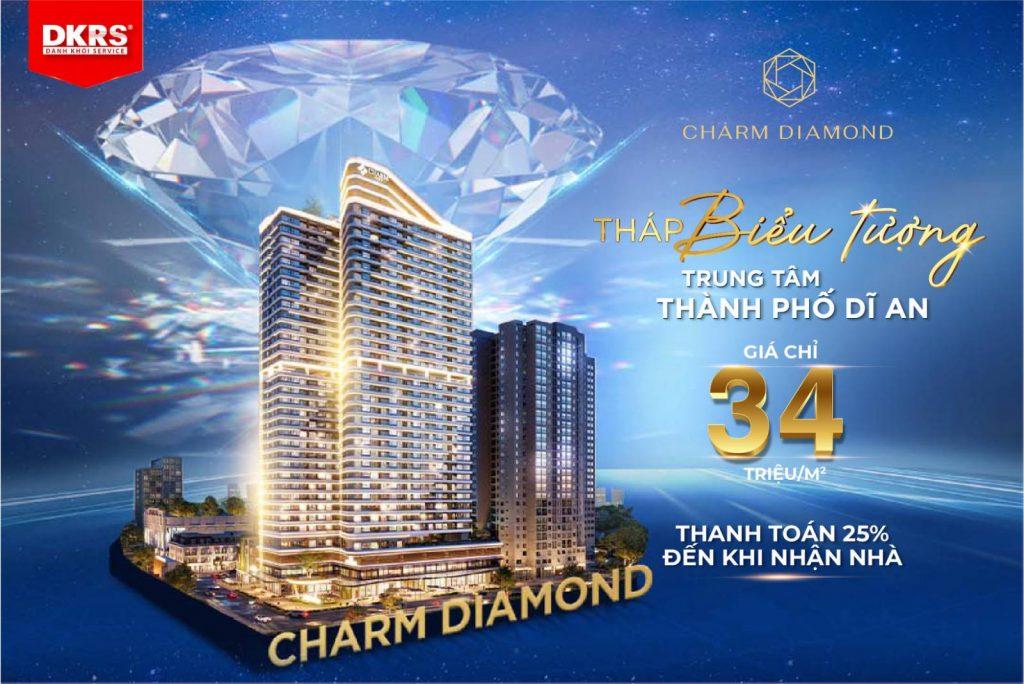 Dự án Charm Diamond tại trung tâm Dĩ An